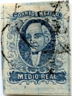 Medio real, plate III, pos. 57